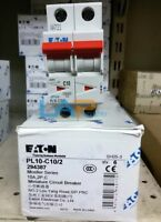 1PC New IN BOX PL10-C10/2 For EATON MOELLER Circuit Breaker #ZMI