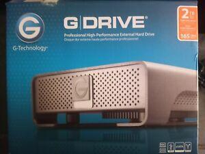 G-Technology G-Drive 4TB, External, 7200RPM (0G05363-1) Hard Drive