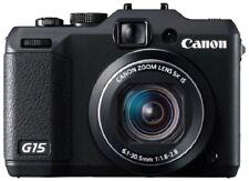 Canon Digital Camera Powershot G15 About 12.1 Million Pixels 5X Optical