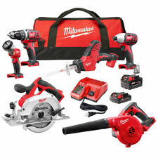 Milwaukee M18 18v 6-Tools Cordless Lithium-Ion Combo Kit Fast Delivery