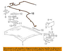 Pontiac GM OEM 06-08 Grand Prix Interior-Roof-Harness 15844612