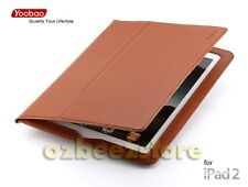 YOOBAO EXECUTIVE LEATHER SMART CASE COVER 4 IPAD 2 brn