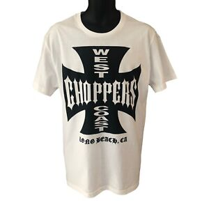 WCC West Coast Choppers T-Shirt The Chapel Solid White