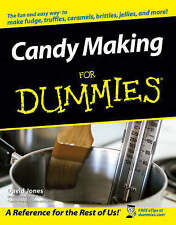 Candy Making For Dummies by Steven Holzner (Paperback, 2005)