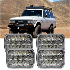 4x LED Sealed Beam H6054 Headlight Bright For Toyota Landcruiser 61 62 80 Series
