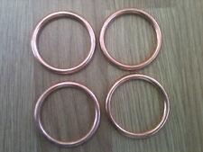 4 Copper Exhaust Gaskets  Honda CBR 600 F 1987-1998