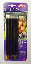 DERWENT STUDIO PACK of 6 fine colour pencils