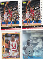 MICHAEL JORDAN 92-93 UPPER DECK JERRY WEST SELECTS BEST ALL AROUND PLAYER JW8