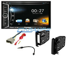 NEW BLUETOOTH TOUCHSCREEN DOUBLE 2 DIN CAR STEREO CD DVD RECEIVER W INSTALL KIT