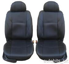 1+1 similicuir noir Couvertures de siège pour Fiat Panda Grande Punto 500 BRAVO