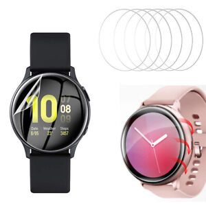 [6 Pack] Screen Protector for Samsung Galaxy Watch Active and Active 2 40/44MM