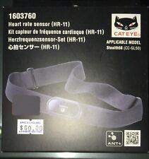 Bike Computer Sensor Cateye Hr-11 Ant+ Gl50 Heart Rate Black