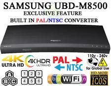 2017 SAMSUNG UBD-M8500 4K Region Free DVD & BD ZONE ABC Blu-Ray Disc Player WIFI