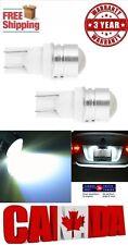 2x T10 4W COB White Projector 6000k Car LED T10 194 168 Dome Map Light Bulb