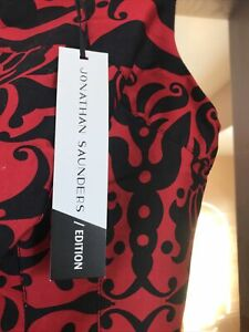 Ladies JONATHAN SAUNDERS Edition Fully Lined Belted Shift Dress Size 12