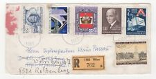 1980 AUSTRIA Registered Cover WIEN via FÜRTH to ROTHENBURG GERMANY