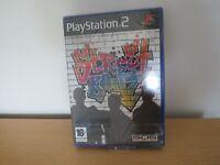 SONY PS2 STREET BOYZ - NEW AND SEALED pal version