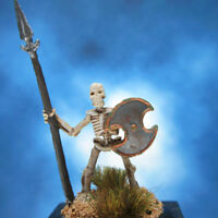 Painted Reaper BONES Miniature Skeleton with Spear II