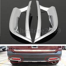 Chrome Tail Rear Fog Light Trim Decoration Cover For Honda CRV CR-V 2012-2014