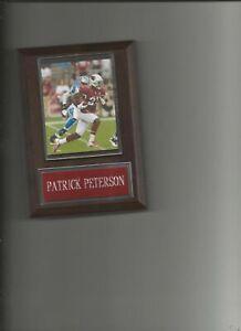 PATRICK PETERSON PLAQUE ARIZONA CARDINALS FOOTBALL NFL