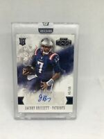 Jacoby Brissett /99 2016 Panini Honors Encased Rookie Auto Patriots / Colts