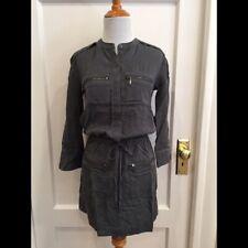 Banana Republic Drawstring Exposed Zipper Dress Petite (Sz 0)