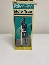 Victor Poison Free Plunger Style Mole Trap For Quick and Clean Kill 0645