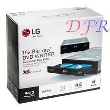 MASTERIZZATORE DVD BLURAY INTERNO LG BH16NS55 Blu-ray SATA NERO PER PC DESKTOP