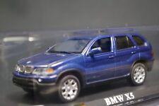 Del Prado BMW X5 1/43 Scale Box Mini Toy Car Display Diecast CA3018