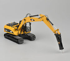 Norscot 1:50 CAT 323D L Type Pile Engine Yellow Color Diecast Excavator Model