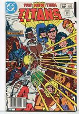The New Teen Titans #34 NM 3rd Death Stroke    DC Comics CBX31
