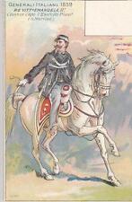 C1198) RISORGIMENTO, VITTORIO EMANUELE II COMANDANTE ESERCITO PIEMONTESE, 1859.