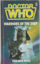Doctor Who - Warriors of the Deep. Silurians! Sea-Devils! 1st edn. Target Books.