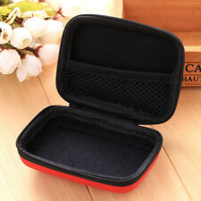 Earphones EVA Headphone Case Container Cable Earbuds Zipper Storage Bag Holder