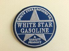 A201 // ECUSSON PATCH AUFNAHER TOPPA / NEUF / WHITE STAR GASOLINE / 7.5 CM