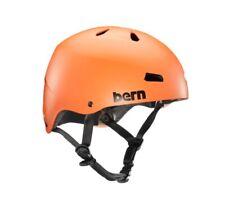 Bern macon Eps Squadra Fit Bicicletta Skate Neve Casco Matte Arancione XXL