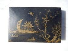 Boite Coffret à décor Japonisant d'époque Napoléon III  19ème