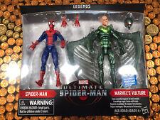 Marvel Legends Ultimate Spider-man & Vulture 2 Pack New!!!