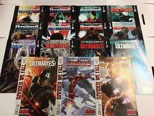 The Ultimates #1 2 3 4 5 6 7 8 9 10 11 12 13 14 15 Comic Book Set Marvel 2011