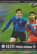 6th SEPTEMBER 2011 ESTONIA vs. NORTHERN IRELAND EM QUALIFICATION