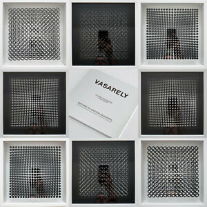 Victor Vasarely - Cinetiques set of eight framed 3D objects - Edition du Griffon