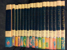 17 Childcraft Books COMPLETE Set Include Dictionary & Was Wondering Home Library