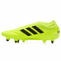 BNIB Adidas COPA 19+ SG Football Shoes SOFT GROUND RRP £180 UK 6.5 Safety Yellow