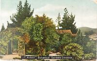 ".1907 POSTCARD CRESWICK, VICTORIA ""ARBOR BOTANICAL GARDENS."
