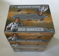 More details for upper deck 2012 soccer retail 3 box lot new & sealed