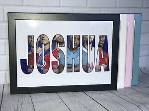 Personalised Name WordArt Gift Keepsake Birthday Christmas Present Framed-Pre2