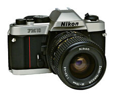Nikon FM10 35mm SLR Film Camera with 35-70 mm lens Kit