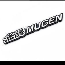 HONDA 3D metal MUGEN Side Rear emblem badge Black JDM