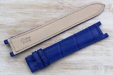 Cinturino Cartier Pasha Blu Lapis Blue DEPLOYANTE Opaco 20mm Free Shipping Cool