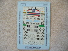 1/48 Microscale/Superscale 48-135 A-10 Decals w/ Nose Art